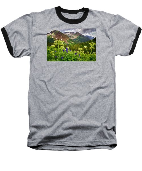 Mountain Majesty Baseball T-Shirt