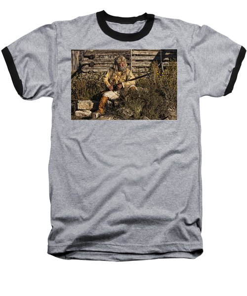 Mountain Man Baseball T-Shirt