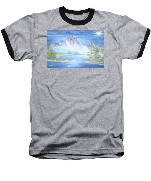 Mountain Mist 2 Baseball T-Shirt