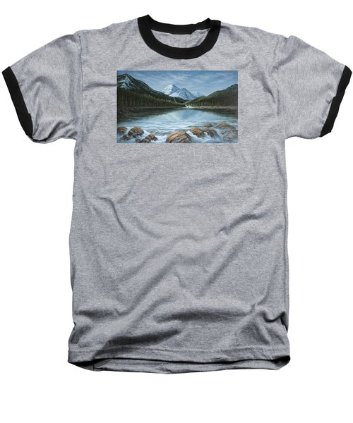 Mountain Paradise Baseball T-Shirt