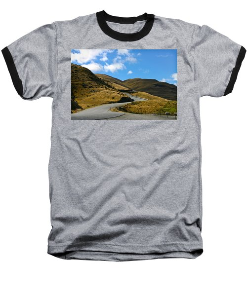 Mountain Pass Road Baseball T-Shirt