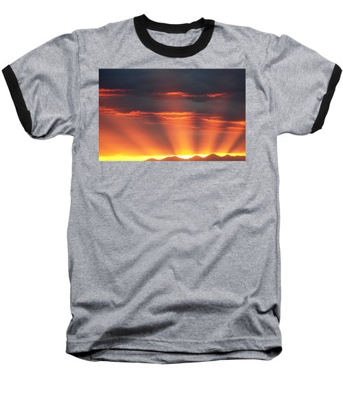 Mountain Rays Baseball T-Shirt