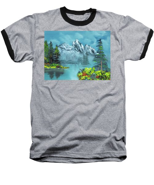 Mountain Retreat Baseball T-Shirt