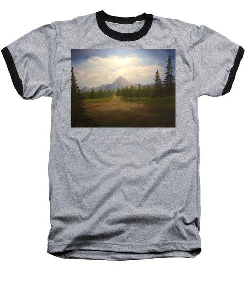 Mountain Run Road  Baseball T-Shirt