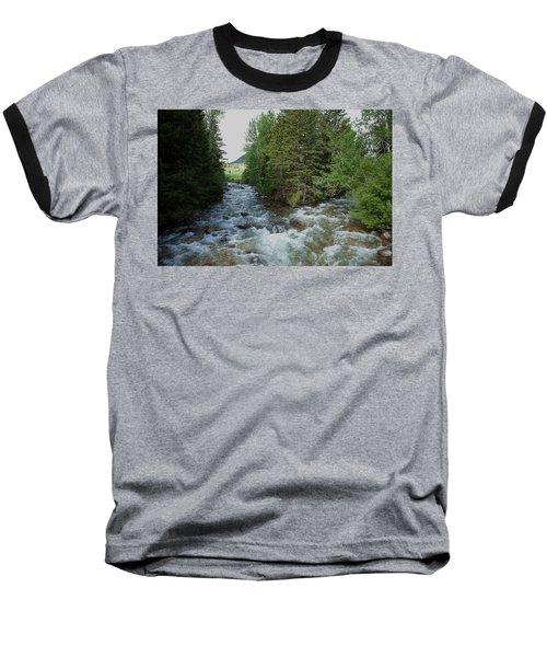 Mountain Stream Baseball T-Shirt