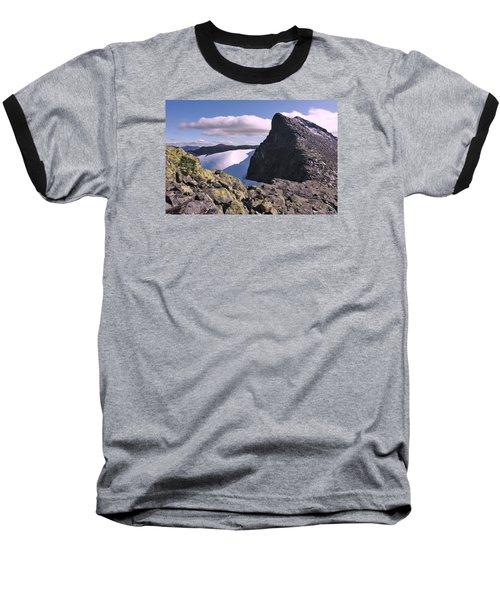 Mountain Summit Ridge Baseball T-Shirt