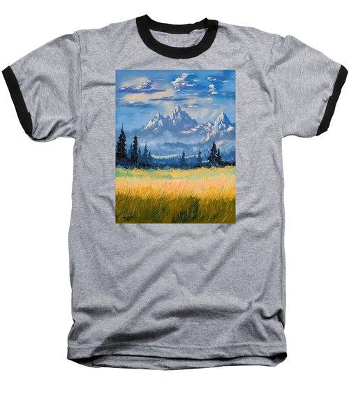 Mountain Valley Baseball T-Shirt by Richard Faulkner