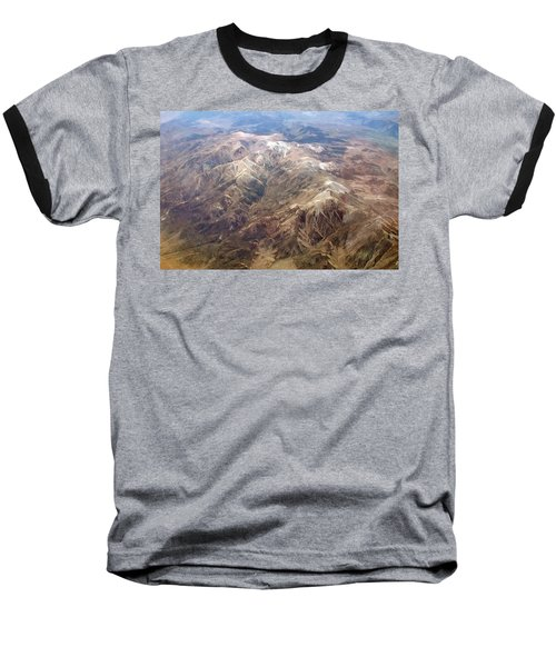 Baseball T-Shirt featuring the photograph Mountain View by Mark Greenberg