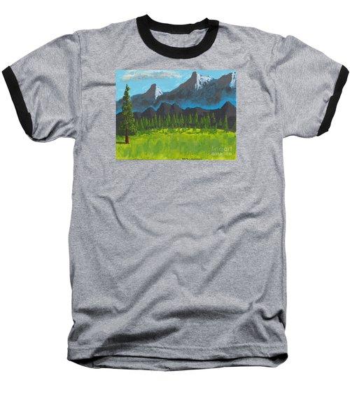 Mountain Vista Baseball T-Shirt by David Jackson