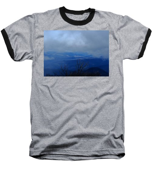 Mountains And Ice Baseball T-Shirt