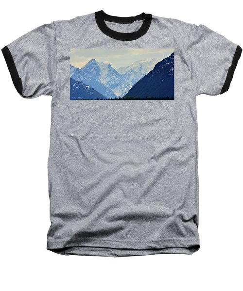 Mountains Near Matanuska Glacier Baseball T-Shirt