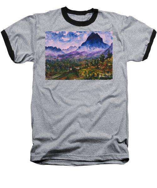 Mountains Of Pyrenees  Baseball T-Shirt