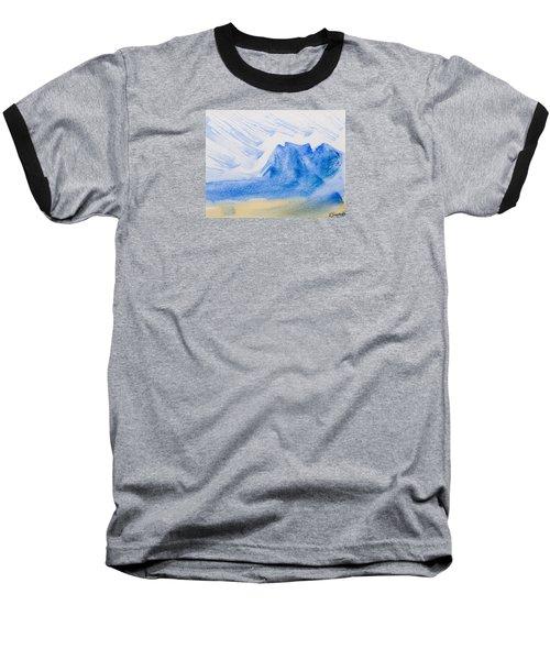 Mountains Tasmania Baseball T-Shirt