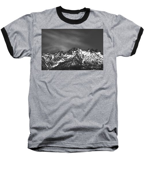 Baseball T-Shirt featuring the photograph North Cascade Mountain Range by Yulia Kazansky