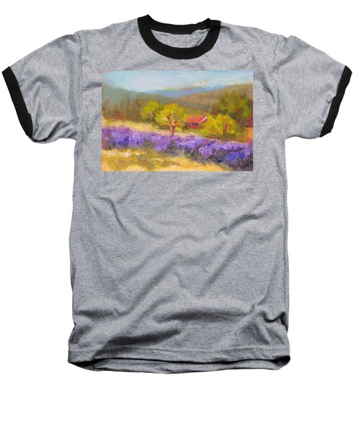 Mountainside Lavender   Baseball T-Shirt