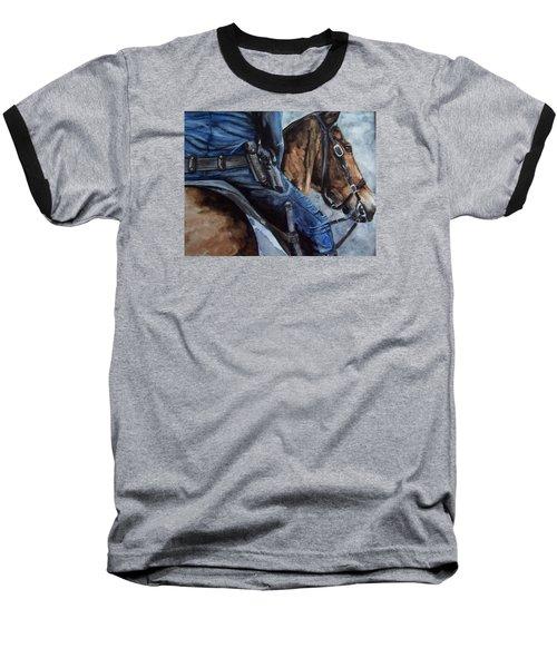Mounted Patrol Baseball T-Shirt
