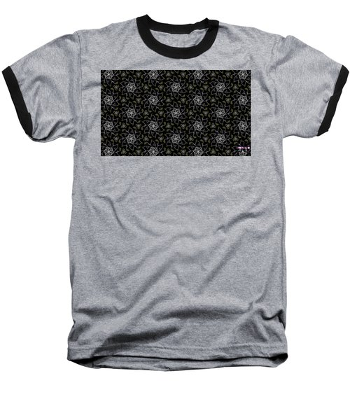 Baseball T-Shirt featuring the digital art Mourning Weave by Elizabeth McTaggart