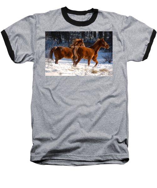 Moving In Motion 2 Baseball T-Shirt