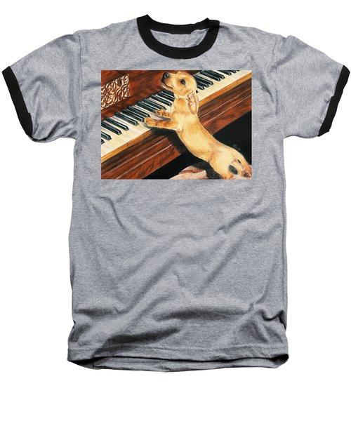 Mozart's Apprentice Baseball T-Shirt
