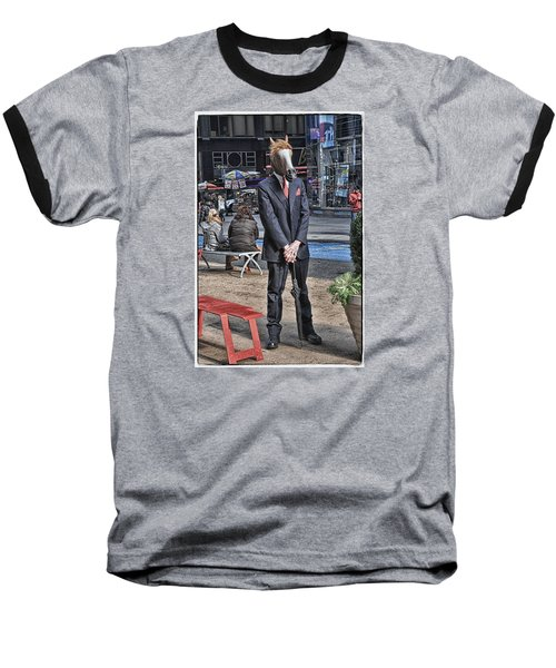 Baseball T-Shirt featuring the photograph Mr. Ed by Mike Martin