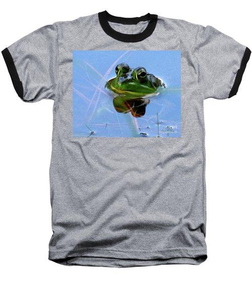 Mr. Frog Baseball T-Shirt