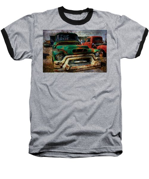 Baseball T-Shirt featuring the photograph Mr Green 4 Sale by Toni Hopper