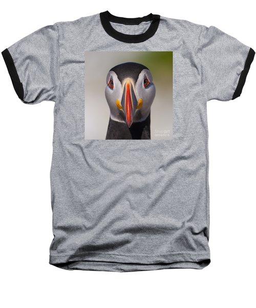 Mr. Puffin.. Baseball T-Shirt