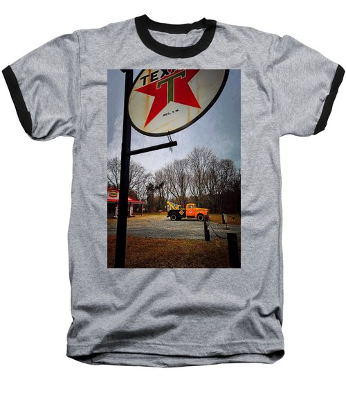 Mr. Towed's Magical Ride Baseball T-Shirt by Robert McCubbin