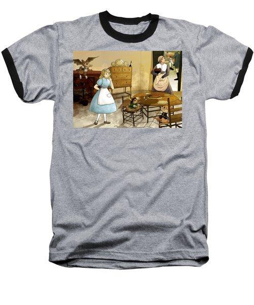 Mrs. Gage's Kitchen Baseball T-Shirt by Reynold Jay