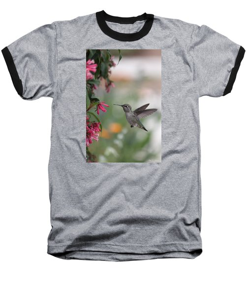 Mrs. Little Anna's Hummingbird Baseball T-Shirt