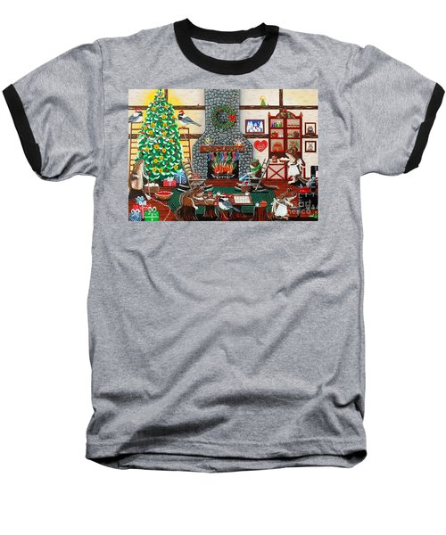 Ms. Elizabeth's Holiday Home Baseball T-Shirt