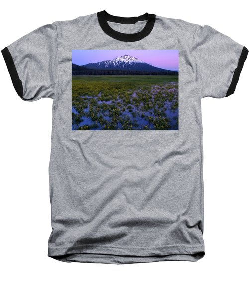 Mt. Bachelor Twilight Baseball T-Shirt