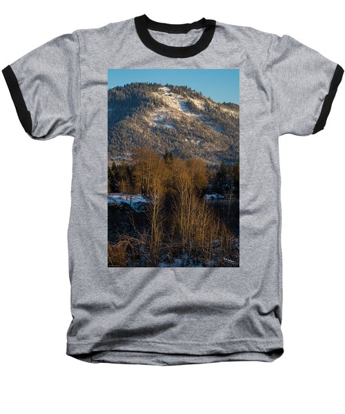 Mt Baldy Near Grants Pass Baseball T-Shirt by Mick Anderson