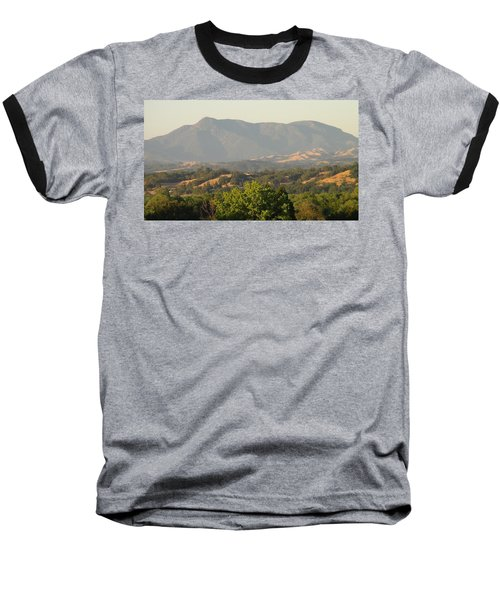 Baseball T-Shirt featuring the photograph Mt. Cali by Shawn Marlow