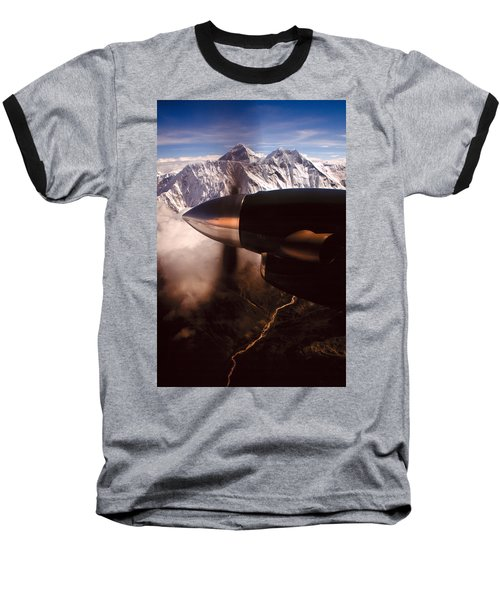 Mt. Everest Baseball T-Shirt