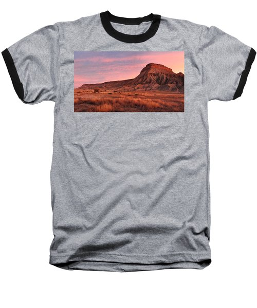 Mt Garfield Sunrise Baseball T-Shirt