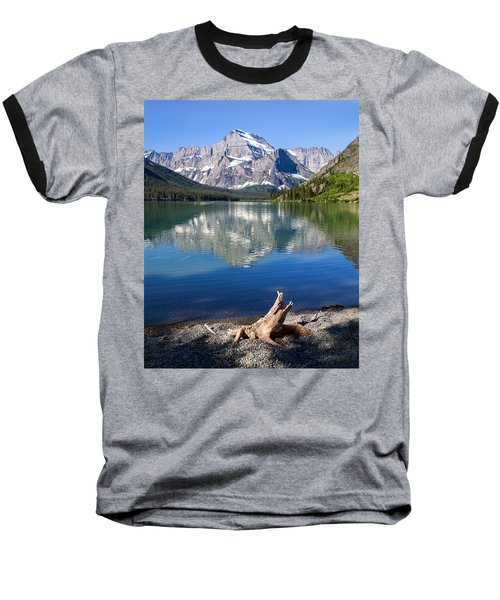 Mt Gould Reflections Baseball T-Shirt