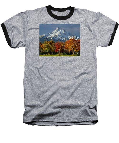 1m5117-mt. Hood In Autumn Baseball T-Shirt