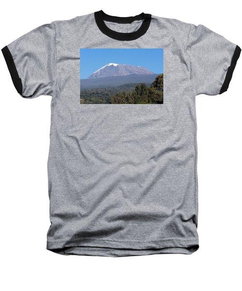 Mt Kilimanjaro  Baseball T-Shirt