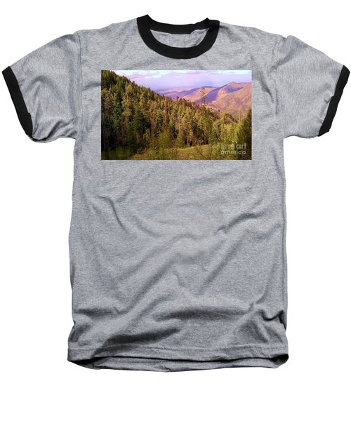 Mt. Lemmon Vista Baseball T-Shirt