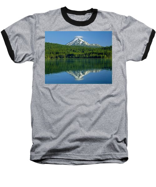 1m5705-h-mt. Mcloughlin From Lake Of The Woods Baseball T-Shirt