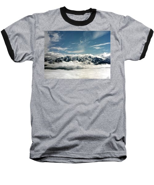Baseball T-Shirt featuring the photograph Mt Olympus by Greg Reed