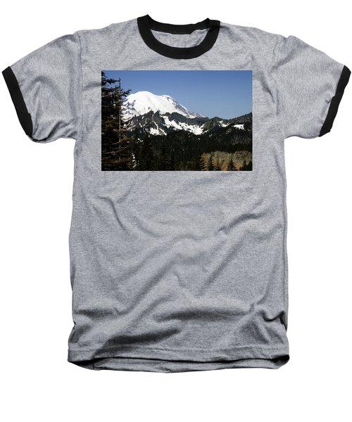Mt Rainer From Wa-410 Baseball T-Shirt