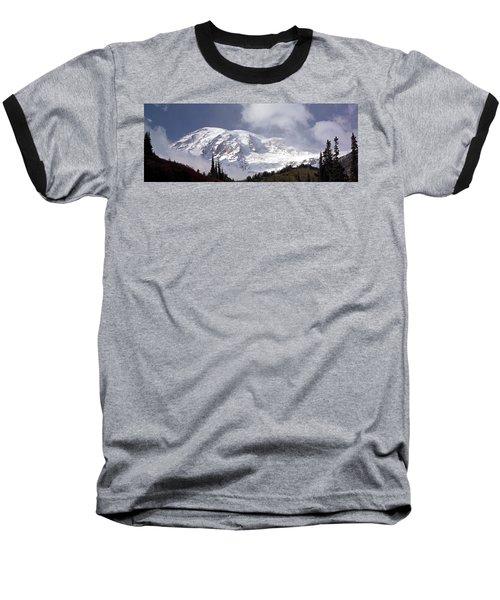 Baseball T-Shirt featuring the photograph Mt Rainier  by Greg Reed