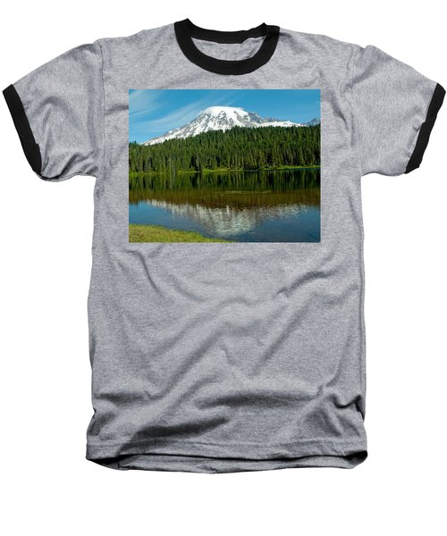 Baseball T-Shirt featuring the photograph Mt. Rainier II by Tikvah's Hope