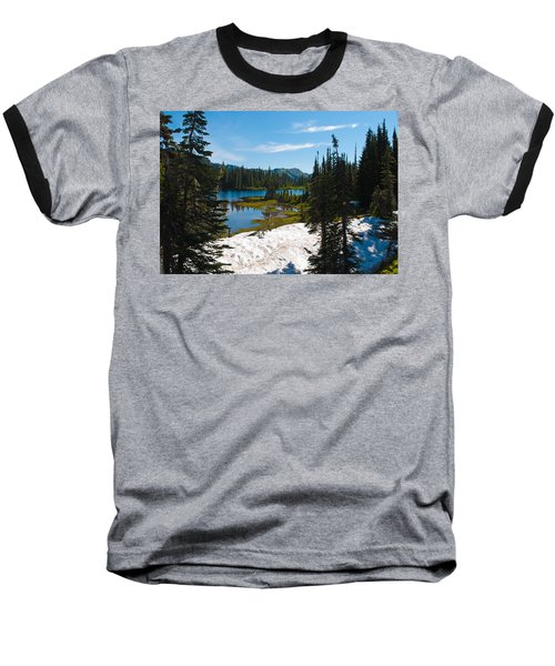 Baseball T-Shirt featuring the photograph Mt. Rainier Wilderness by Tikvah's Hope