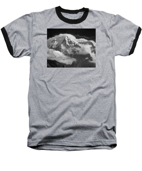 102496-mt. Robson Wreathed In Clouds Baseball T-Shirt