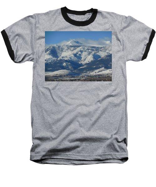 Mt Rose Reno Nevada Baseball T-Shirt by Dan Whittemore