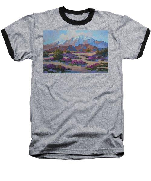 Mt. San Jacinto And Verbena Baseball T-Shirt