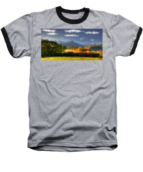 Mt Sneffels And The Dallas Divide Baseball T-Shirt